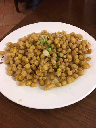 Chen Ji: Maíz a la sal y pimienta, buenísimo.