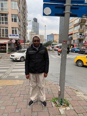 Along the Street of Marmara Sisli