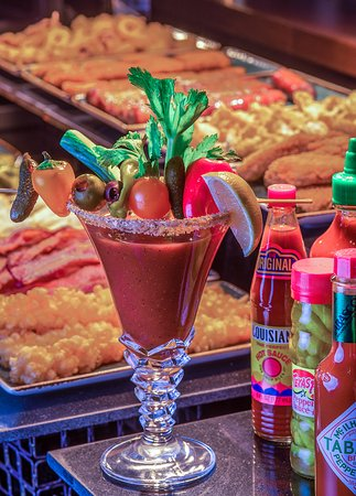 Bloody Mary Bar with over 48,000 Topping Combinations - By the Glass or Endless