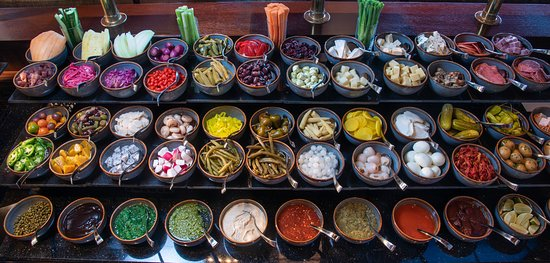 Bloody Mary Bar - Cold Toppings - Brunch