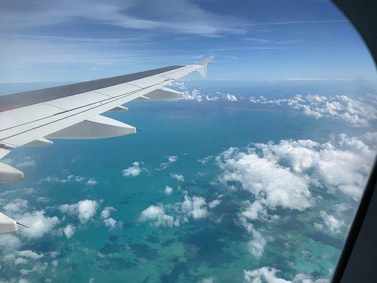 Air Transat: Nous survolons l'Atlantique en quittant Fort Lauderdale, Floride.