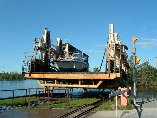 Big Chute Marine Railway - Ontario