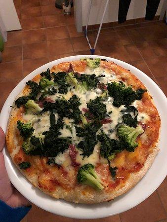 Pizza zum abholen.