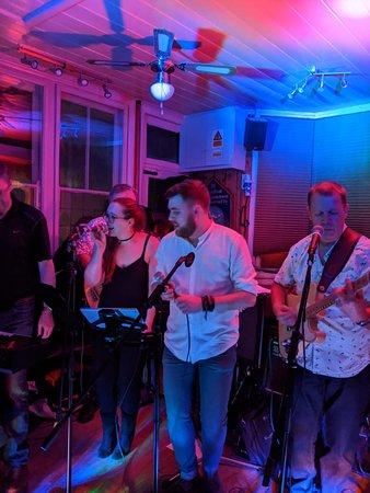 "Brilliant local band ""NightWatch"""