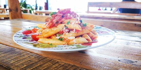 מחוז קרטגו, קוסטה ריקה: Deliciosa pasta penne, en salsa amatriciana