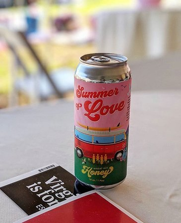 Summer of Love Honey Wheat Can