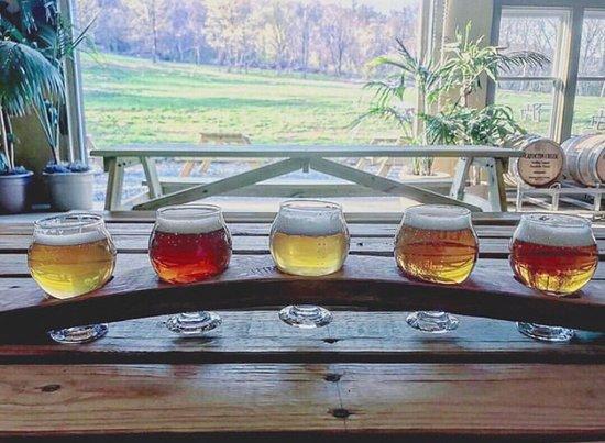 Flight Tasting at B Chord Brewing Company
