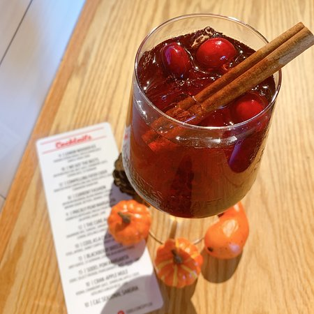 Fall inspired Seasonal Sangria