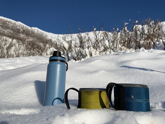 Anchorage, AK : Hot Chocolate or Tea to warm up on an outdoor adventure.