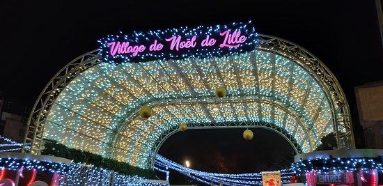 Village de Noel de Lille