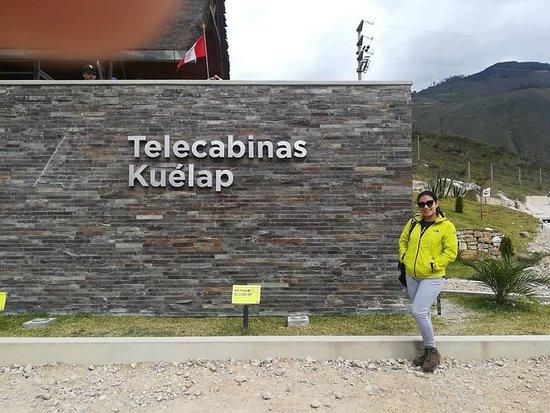 ¿Ya subieron a la telecabinas de Kuelap?