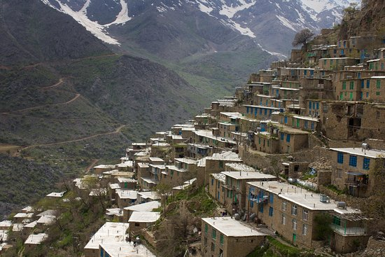 Kordestan Province, איראן: Hawraman village