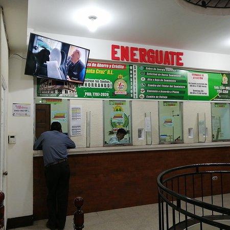 Santa Cruz del Quiche, Guatemala: Solución al pago de energía eléctrica e incluso para tramitar y gestionar energía eléctrica.