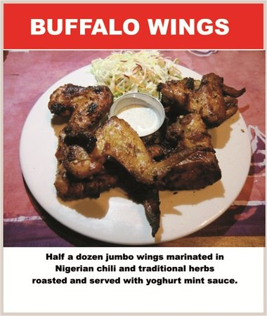Abuja, Nigéria : This is Bufallo wings for order or for our services call   +2348147502206