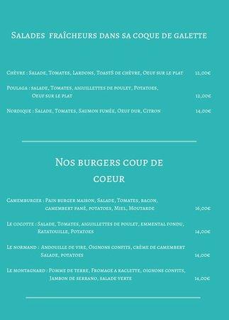 Salades et Burgers