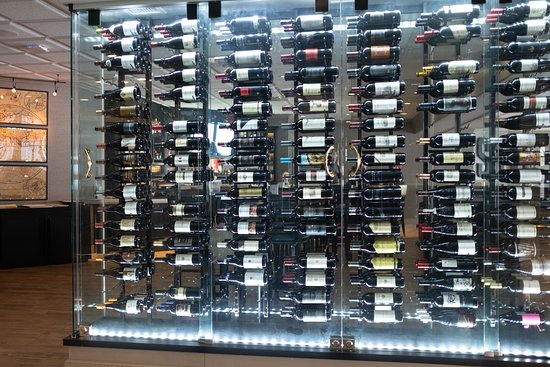 Wine Wall holding up to 480 wines