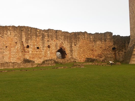 Inner Castle Wall & Site of The Kitchens