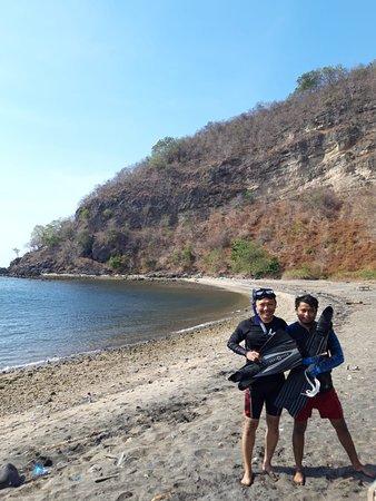 Sumbawa, Indonesia: Bersama Mas Awal komunitas Freediving Bima