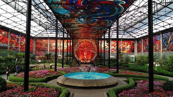 Cosmovitral -- jardín botánico Toluca