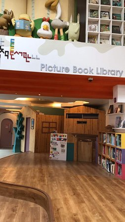 Picture Book Library with indoor playground - great space for kids