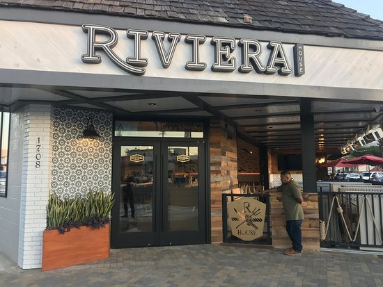 Riviera House Redondo Beach Menu