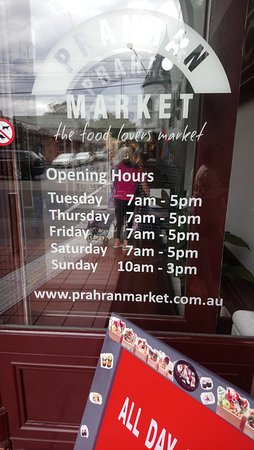 Opening Times