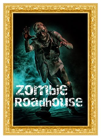 Will you come to the roundhouse for dinner or as dinner?