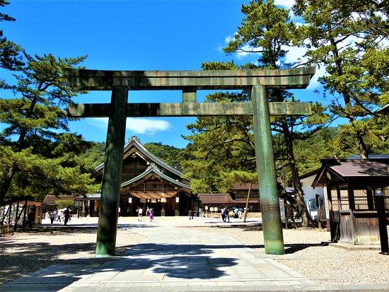 Izumo Taisha Shrine Bronze Torii