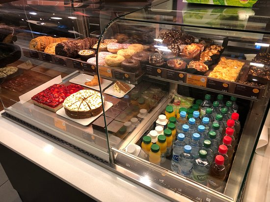 food items at McCafe