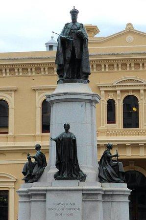 Adelaida, Australia: King Edward VII Statute in Adelaide