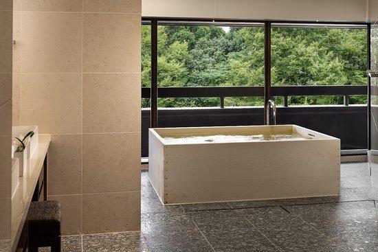 Cypress bath tub
