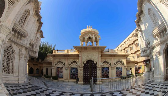 Vrindavan, India: Front entrance of the temple