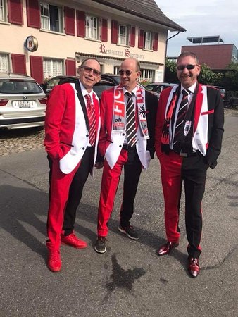 FC Aarua fans !! Suits by Amorn's!