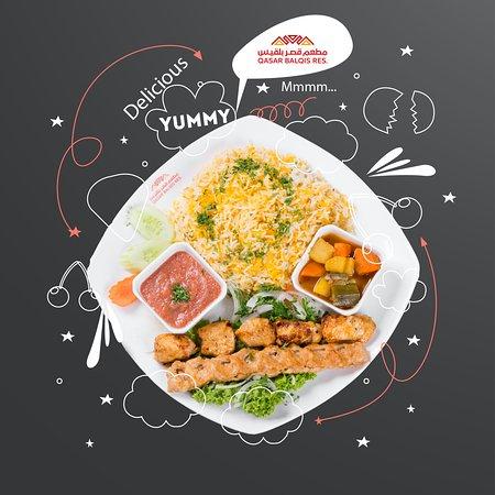 At Qasar Balqis , we make people happy through food 😋 ⠀ Di Qasar Balqis, kami jadikan hidangan kami sebagai sebab keriangan hari anda 😋⠀ 在Qasar Balqis,我們通過食物讓人們快樂😋⠀ في قصر بلقيس ، سعادتكم عند تناول الذ الاطعمة هي سعادتنا الحقيقية . 😋⠀ -⠀ #food  #ArabicFood  #Foodie  #Malaysia  #arabic  #ماليزيا  #qasarbalqis  #catering  #Event  #Wedding  #Makan