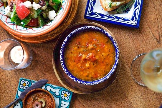 チリビーンズスープ