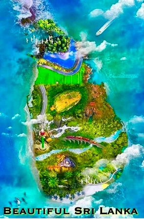 Sri Lanka Round tours, we show you all these places