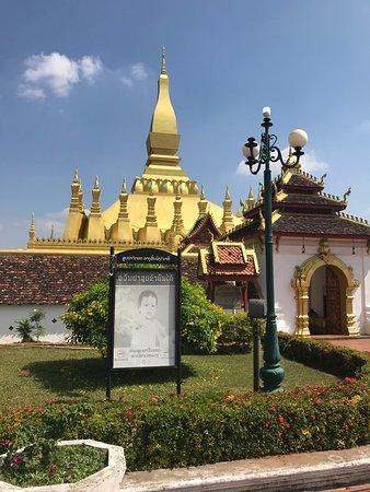 Vientiane, Laos: Entrance