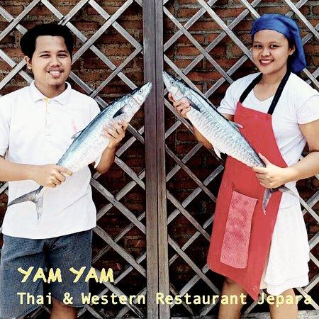 Always Fresh at YAM YAM Thai & Western Restaurant Jepara