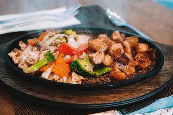 Chicken Teppanyaki!