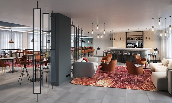 Hilton Garden Inn Paris Orly Airport Lounge Bar