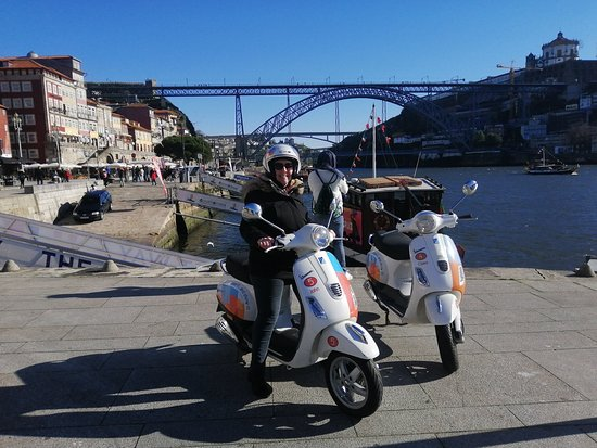 Amazing Vespa Tour with Julio