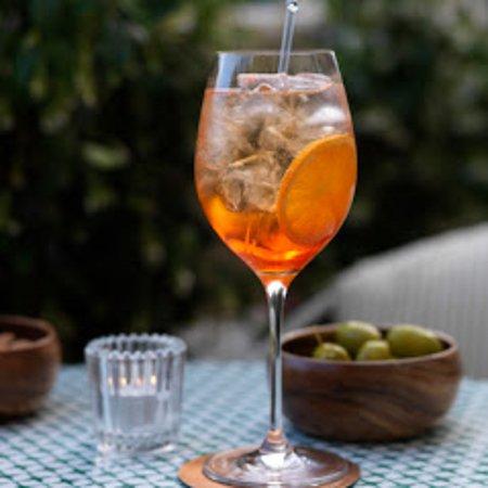 Delicious cocktail list