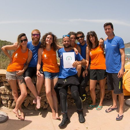 Staff Diving Menorca