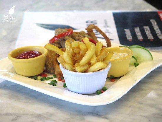 Chips and Lamb Chops😍