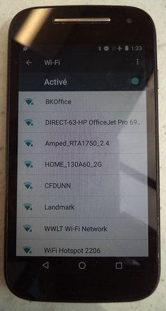 2019-04-09 / Pas de wifi......no wifi too bad !