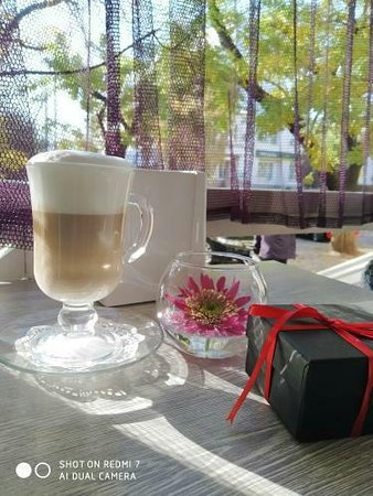 Kherson, Ukraina: Кафе Veranda город Херсон