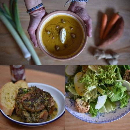 warm up this winter with hot soups, fresh salads and slow cooked meals with the best ingredients, served daily from 2pm until 11pm