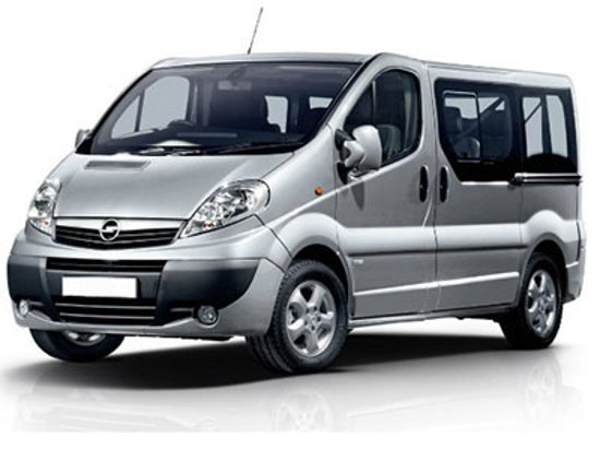 Belehrad, Srbsko: Opel Vivaro 7+1 Broj dana Cena po danu* 1                8.813,00 RSD (75 €) 2-3                7.990,00 RSD (68 €) 4-6                7.285,00 RSD (62 €) 7-15        7.050,00 RSD (60 €) 16-29        6.815,00 RSD (58 €) 30+                5.640,00 RSD (48 €)  **Neograničena Km po teritoriji SRBIJE; Inostranstvo: 250 Km uključeno dnevno; -10% dо 100km na dan za preko 4 dana rentiranja.