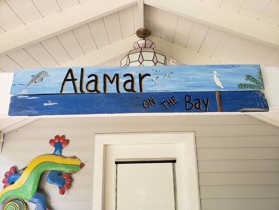 Key Largo, FL: Feel Welcome Before you even enter the Villa - Alamar on the Bay!