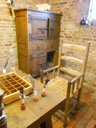 The Kitchen Stewards Rooms Showing Spice Chest at Gainsborough Old Hall